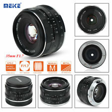 Meike 35mm F/1.7 Manual Focus Prime Lens Mirrorless APS-C Frame for Sony E Mount