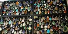 Turquosie & Mix Stone Pendant Wholesale Lots 925 Sterling Silver Plated Jewelry