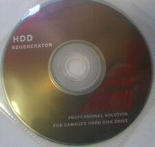 Unidad de disco duro regenerar las actualizaciones de herramienta & revive sectores defectuosos a nueva disco de arranque