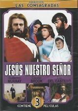 Jesus Nuestro Senor,Jesus Maria Y Jose,Jesus El Nino Dios New Dvd