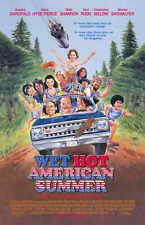 WET HOT AMERICAN SUMMER Movie Promo POSTER Janeane Garofalo David Hyde Pierce