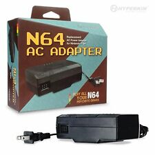 AC ADAPTER POWER SUPPLY CORD (NINTENDO 64) (NEW) N64 IN BOX BY HYPERKIN