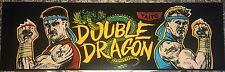 "Double Dragon Arcade Marquee 26""x8"""