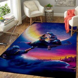 Aladdin, Princess Jasmine & Genie – Aladdin Movie ALA290830 Carpet Living Room