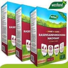 Westland 3 x 500 g Smart & Quick Rasensamenmischung Nachsaat »Englands Nummer 1«