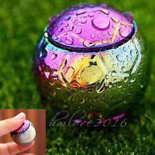 Rainbow Football Fidget Hand Spinner Finger EDC Focus Stress ADHD Gyro Toy Gift