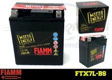 FTX7L-BS BATTERIA MOTO FIAMM MOTOR ENERGY YUASA (YTX7L-BS) 6Ah 75A  + LIQUIDO