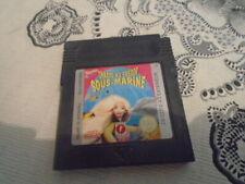 BARBIE CHASSE AU TRESOR SOUS-MARINE NINTENDO GAME BOY COLOR GBC VF