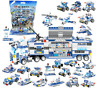 Building Blocks Set 762 Pcs 8IN1 Robot Aircraft Car Compatible City Police