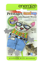 Cat Toy-Madcap Geeky Squeak Mouse