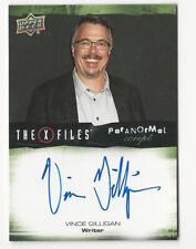 Vince Gilligan The X Files Ufos & Aliens Paranormal Script Autograph Card Auto