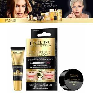 Eveline Lip Therapy Sugar Lip Scrub + Hyaluronic Lips Filler Duo Lips Treatment