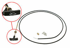 BONNET CABLE & CLIP & STOP - LATE HOLDEN LX TORANA - T HANDLE