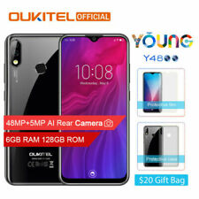 """OUKITEL Y4800 6GB+128GB 6.3"""" Android 9.0 Octa Core 4000mAh Face ID 4G Smartphone"""