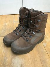 HAIX Army Desert Excel. Combat High Liability Brown Boots Male Men Cadet UK 7M