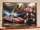 Transformers Masterpiece 14+ ALERT Anime Colors - Authentic New MP-14+ Red Alert