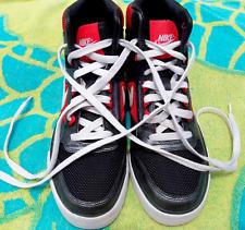 Nike Delta Force High Tops Shoes Sneakers Dark GRAY White ORANGE Women's 7.5