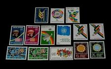 U.N.1976, New York #267-280 Year Set Issues, Singles, Mnh, Nice! Lqqk!