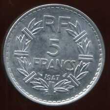 5 francs LAVRILLIER 1947   le 9  ouvert  ( SPL )  ( bis )