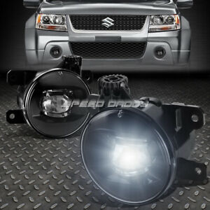 FOR 06-14 SUZUKI GRAND VITARA CLEAR LENS OE DRIVING PAIR LED FOG LIGHT LAMP