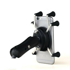 6 Feet X-Shape Phone Mount Motorcycle Universal For Cell Phone GPS Stand Holder