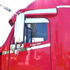 """Freightliner Century Columbia 5"""" Chop Top Door Trim Stainless Steel"""