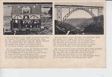 AK Müngstener Brücke, Märchenwelt, ca. 1930/40