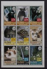 U19) x9 TIMBRES-stamps Neuf**MNH SAINT-VINCENT/Grenadines (CELEBRATE THE WILD)