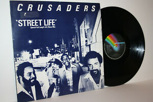 """THE CRUSADERS STREET LIFE 12"""" Special Full Length U.S.Disco Mix UK 1979 EX/VG+"""