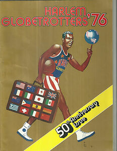 1976 Harlem Globetrotters Yearbook Basketball