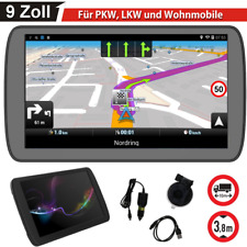 MediaTek 9 Zoll Navigationsgerät Für LKW PKW BUS Navi Navigation GPS POI Blitzer