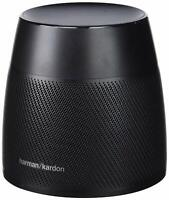 Harman Kardon Astra Voice-Activated Smart Speaker - Black - HKASTRABLKBSEU