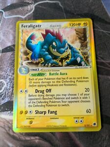Feraligatr 2/101 Ex Dragon Frontiers Holo (B) - Card Condition Video In...
