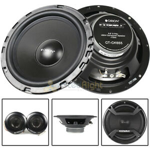 "Orion 6.5"" 2 Way Component Speaker System 450 Watts Max Cobalt Series CT-CK655"