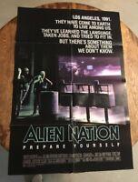 ALIEN NATION original 27x41 onesheet Movie Poster 1988 JAMES CAAN