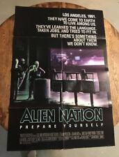 ALIEN NATION - 1988 Original 27x41 One Sheet Movie Poster JAMES CAAN