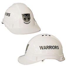 NZ New Zealand Warriors NRL Light Weight Vented Safety Hard Hat Work Man Cave
