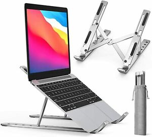 Portable Adjustable Laptop Stand Folding Tablet Holder iPad Office Support Tool