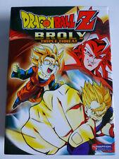 Dragon Ball Z Broly Triple Threat - 3 DVD Boxset 2006 Three Classic Broly Movies
