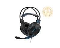 Subsonic GIGN Gaming Headset - Black/Blue, PS5, PS4, Xbox X/One, Nintendo Switch