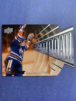 2015-16 Upper Deck Full Force Hockey Goal #G-WG Wayne Gretzky Edmonton Oilers