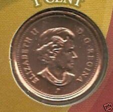 2006 P  UNC  Canada 1 Cent
