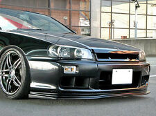 EPR Front Bumper Lip For Nissan Skyline R34 GTT D1 Style Fiber Glass Racing FRP