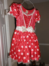 DISNEY STORE Minnie Mouse Costume for Girls NEW LARGE 10 L  Mickey's girl