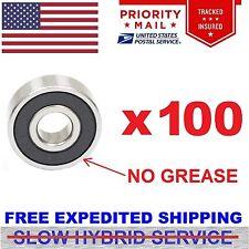 Lot 100pcs 608-2RS Skate RUBBER SEALs Hockey Bearings Fidget Spinner ABEC 7 no g