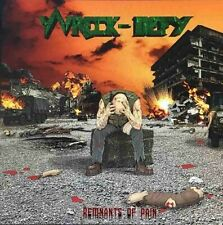 WRECK-DEFY - Remnants of Pain (NEW*CAN THRASH/SPEED METAL*ANNIHILATOR*OVERKILL)