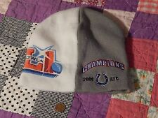 2006 NFL AFC CHAMPIONS_INDIANAPOLIS COLTS_Sock Hat/Beanie (= (FREE SHIP.)