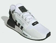 Adidas Originals NMD R1 V2 White Black Trainers Shoes UK 13.5 EU 49 1/3