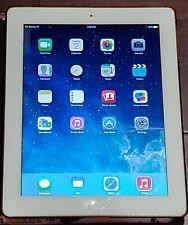 Apple iPad 3rd Gen. 64GB, Wi-Fi + Cellular (Verizon), 9.7in - White *CRKD SCREEN