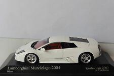 LAMBORGHINI MURCIELAGO 2004 WHITE MINICHAMPS 1/43 KYOSHO KOSHO FAIR 2007
